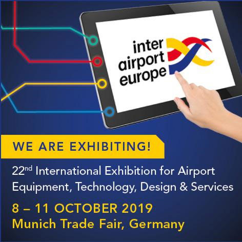Interairport, Munich, Oct. 8-11, 2019